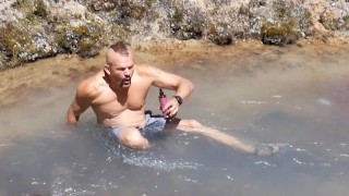 5 Minutes in a FREEZING Stream – Chuck Liddell