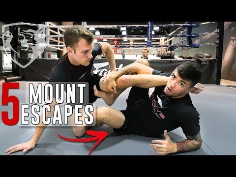 5 Ways to Escape Full Mount (+ Set Up Heel Hook) w/Bruno Pucci
