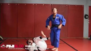 Angie Delgado – Koshi Garuma To Ouchi Gari