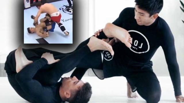 Berimbolo To Leg Drag in MMA