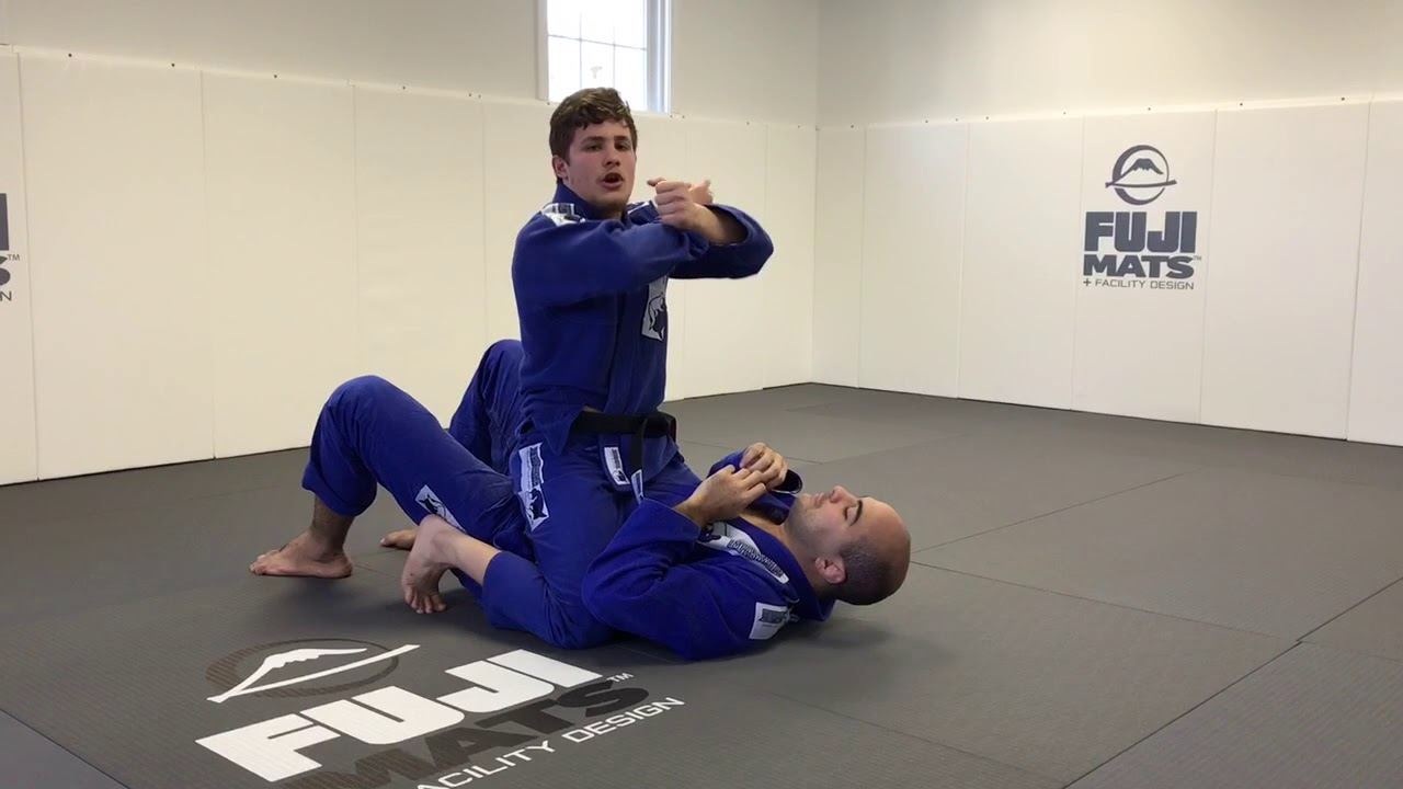 Cross Choke From Mount by Matheus Gonzaga (The Best Details)