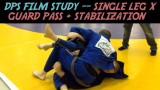 DPS Film Study – Single Leg X Guard Pass + Stabilization -Dan Sweeney