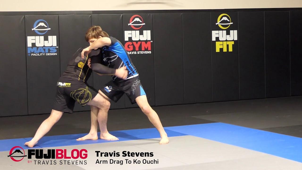 Easy Takedown for No Gi- Armdrag to Kouchi- Travis Stevens
