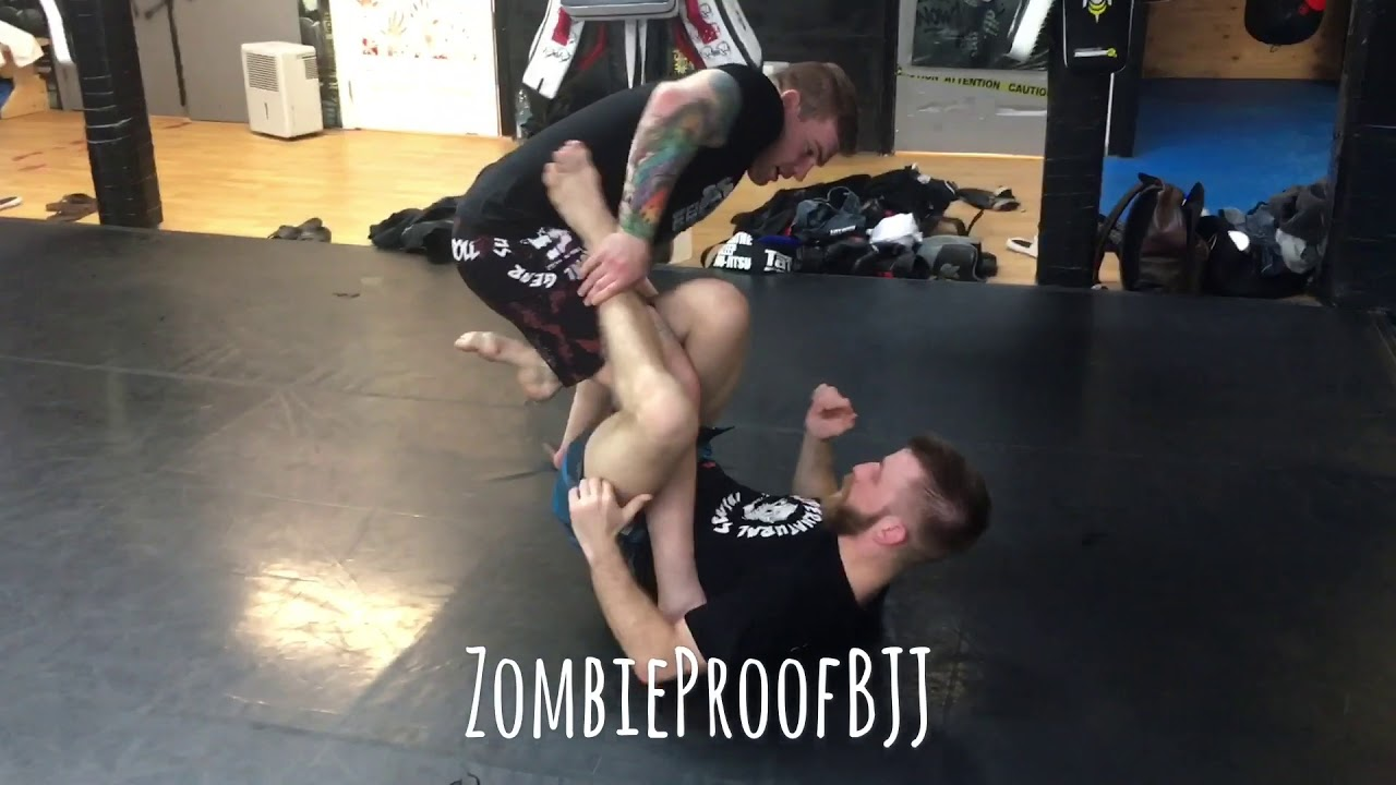 Ethan Crelinsten SLX/X Guard Pass & Kimura Backtake Wizardry – ZombieProofBJJ (BreakDown)