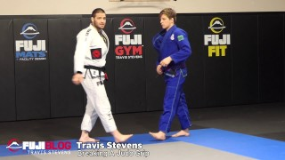 Grip Breaking in BJJ – Judo grip With Olympic Medalist Travis Stevens