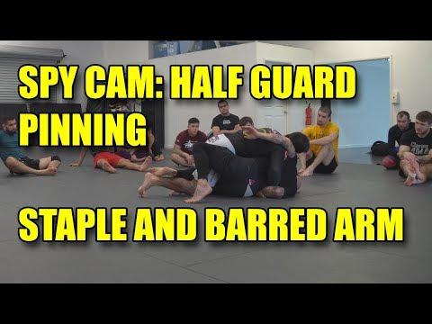 Half Guard Pinning, the Staple Pin and the Barred Arm Pin –  David Avellan
