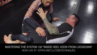 Heel Hook From The Lockdown- Eddie Bravo
