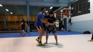 Inside trip/Ouchi gari in Freestyle Wrestling with top wrestler Salvatore Rinella