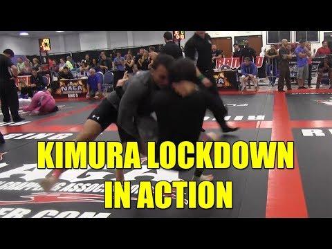 Kimura Lockdown in Action – Match Review –  David Avellan