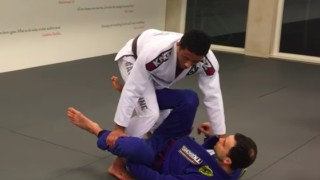 Passing from the Leg-Weave Guard- Dominique Bell