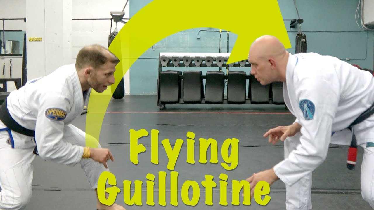 Low Single to Flying Guillotine Combo with Elliott Bayev
