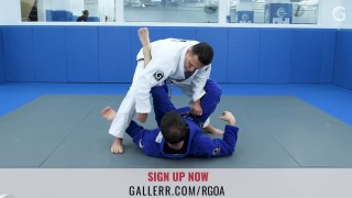 Renzo Gracie: Opening The Closed Guard of a Stronger Opponent