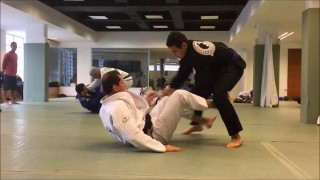 Roger Gracie Rolls with His 16 yr old 230lbs Cousin Rayron Gracie