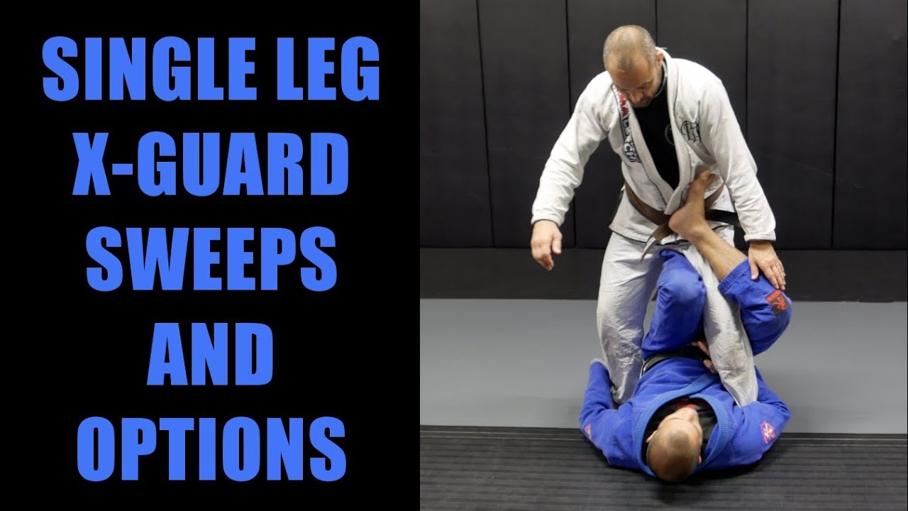 Single Leg X-Guard Sweeps & Options