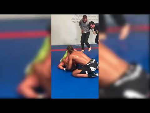 Snippet of Dominick Cruz Grappling Training