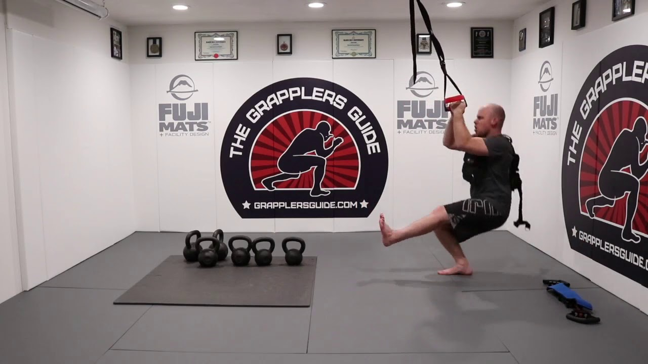 Strength Workout Followed By Grappling Drills Finisher with Jason Scully