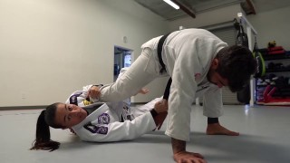 Sweep to Armbar- Leticia Ribeiro