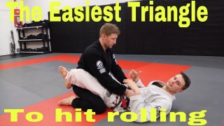 The Easiest BJJ triangle setup ever