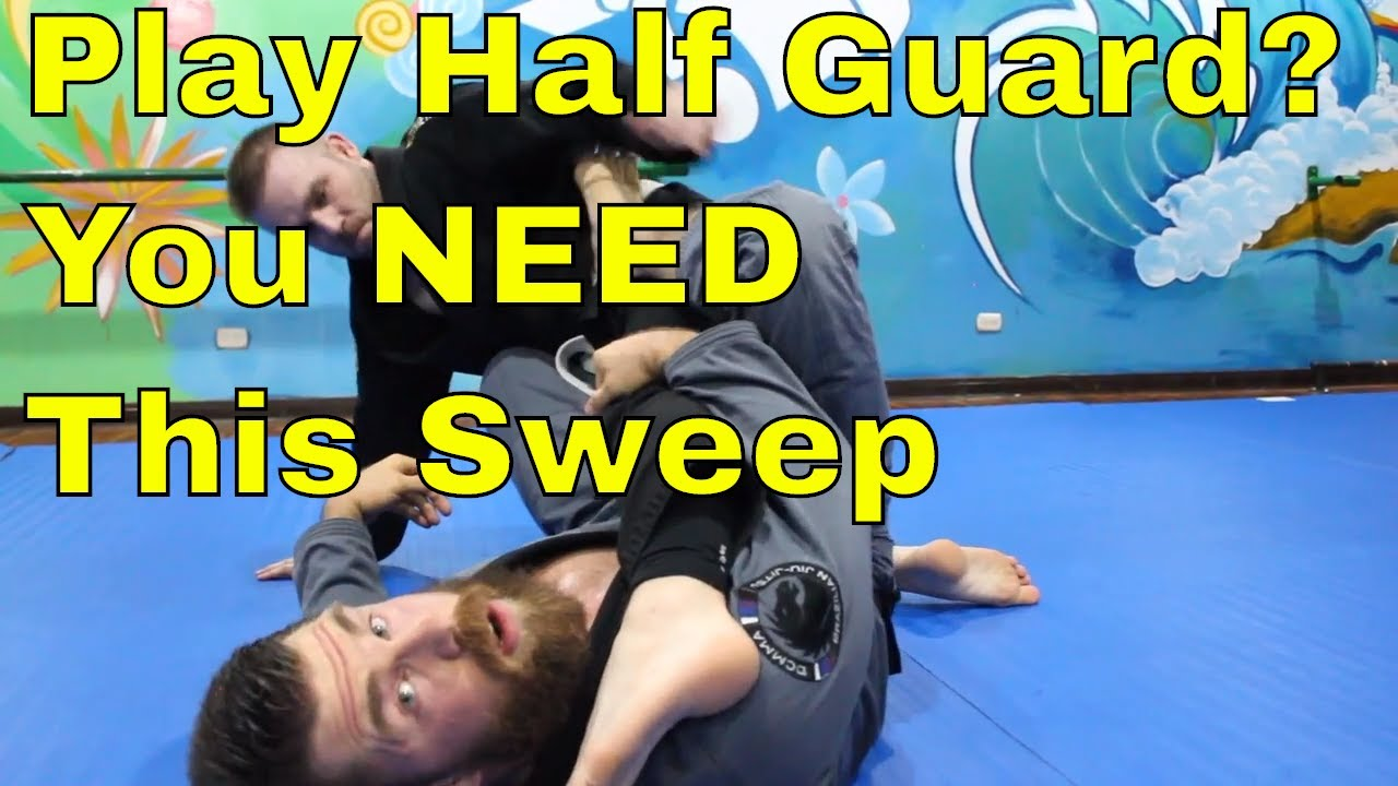 This BJJ Half Guard Sweep is So Effortless You Might Giggle Chewjitsu