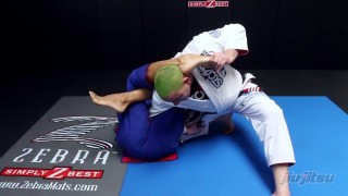 Toe Hold Counter From Inside Omoplata & Pass