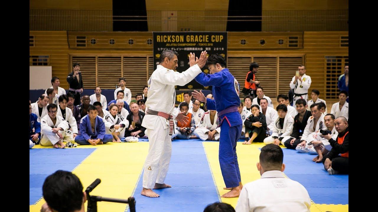Watch Entire Rickson Gracie Seminar in Tokyo 2018