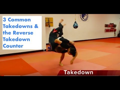 3 Common Takedowns & Their Counters