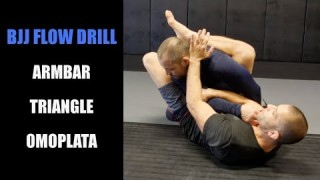 Armbar Triangle Omoplata From Closed Guard