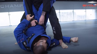 How To A Hip Bump Sweep To Triangle Choke | Evolve University