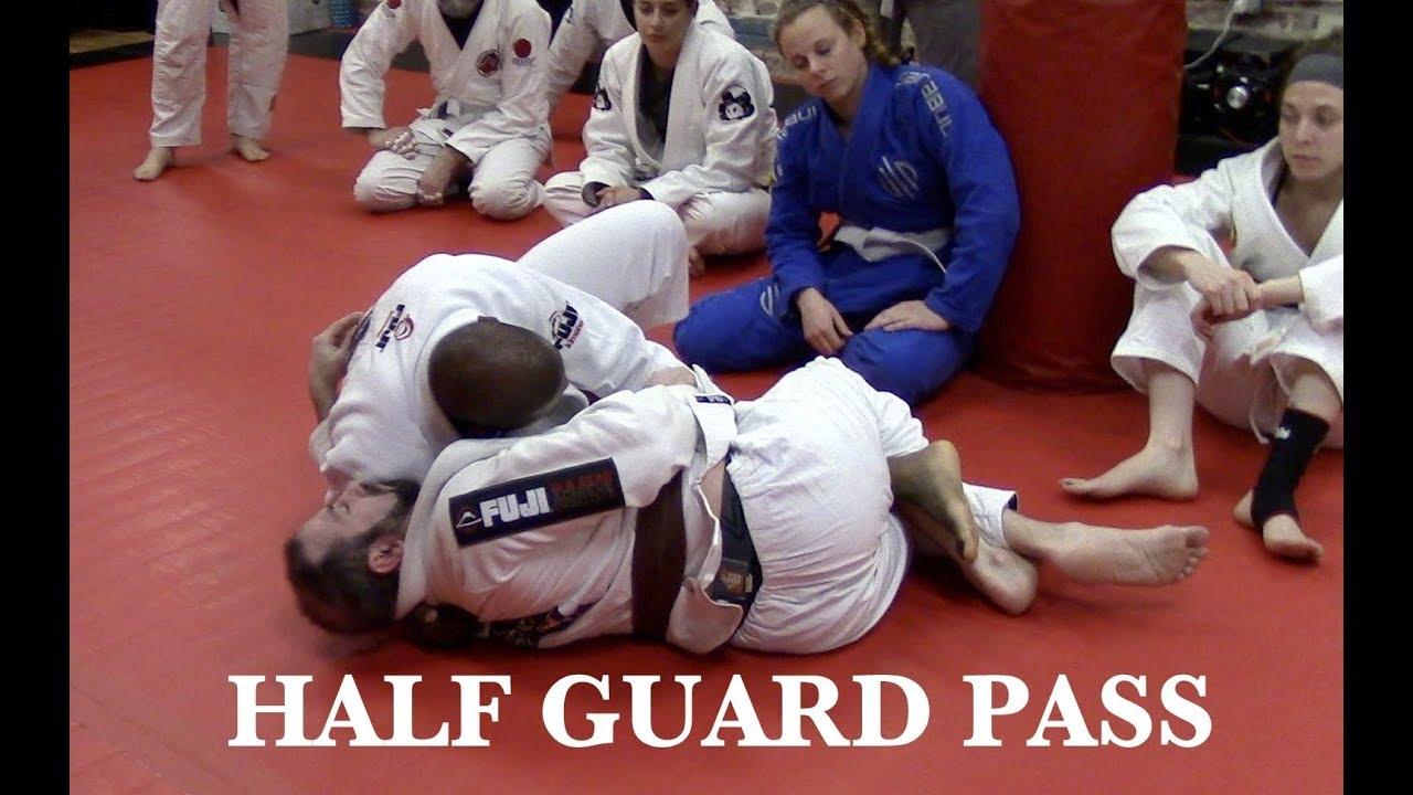 Half Guard Passes – Mackens Semerzier via BJJ Joe