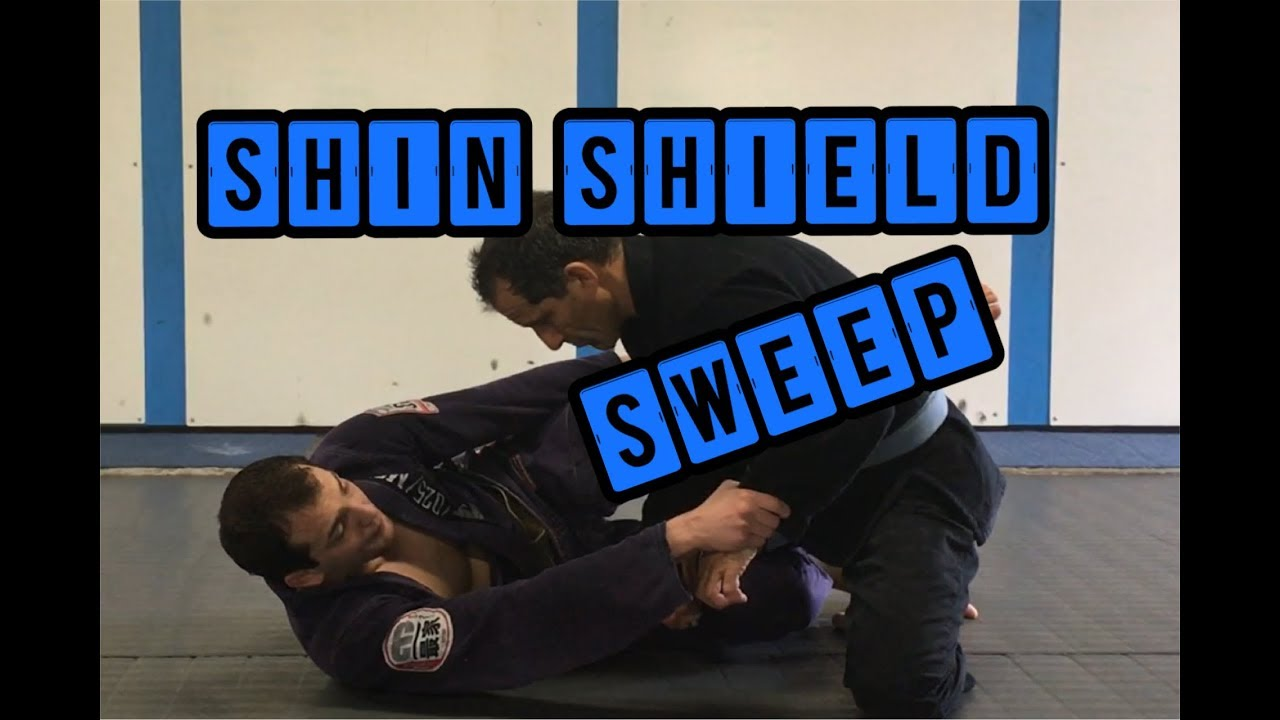 Half Guard Shin Shield sweep against STRONG pass – Ben Egli