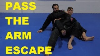 Highest Percentage Back Escape in Jiu-Jitsu