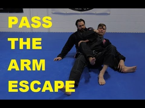Highest Percentage Back Escape in Jiu-Jitsu