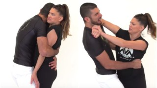 6 Creepy Hug Defenses for EVERY Woman- Rener & Eve Gracie
