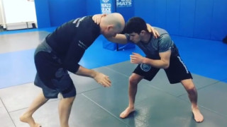 John Danaher Demonstrates Scissor Takedown Personally