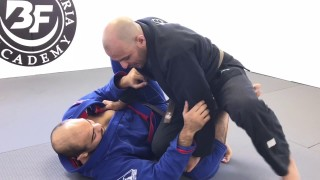 Knee Slice Pass against Butterfly Guard by Youssef Drihmi