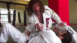 Kurt Osiander's Nice Details to Straight Armlock From Knee on Belly