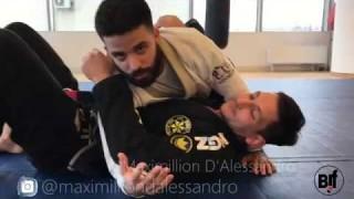 Magic wristlock from side control- Maximillion D'Alessandro