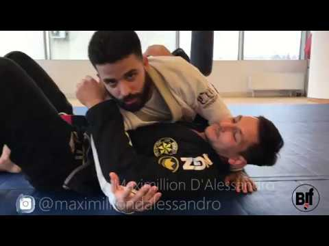 Magic wristlock from side control- Maximillion D'Alessandro