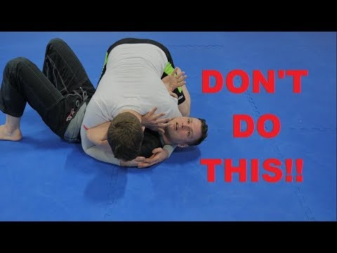 Massive Mistake While Escaping Side Control- David Morcegao