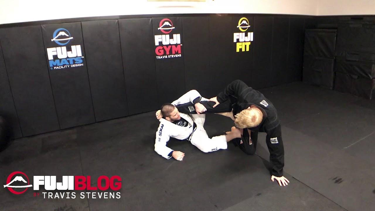 Pulling X Guard To Takedown- Travis Stevens
