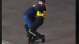 Race Car Drivers Get Into An Bare Knuckle Brawl