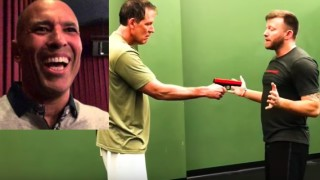 Royce Gracie Black Belt Shows His Favourite Gun Disarms