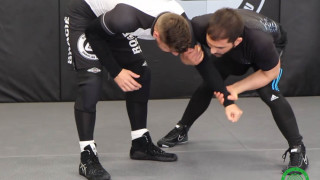 How Elite Wrestlers Ankle Pick from the Russian Tie for BJJ