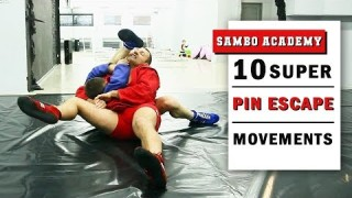 Sambo: 10 Ways Of Escaping Side Control (Pins)