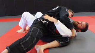 What is the best way to escape a Scarfhold style side control in BJJ?
