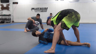 Over Under Pass to Knee Bar with Marcelo Nunes
