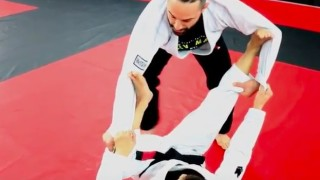 Toe Hold and Kneebar Against Spider Guard