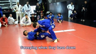 Sweeps from X Guard – Robson Moura