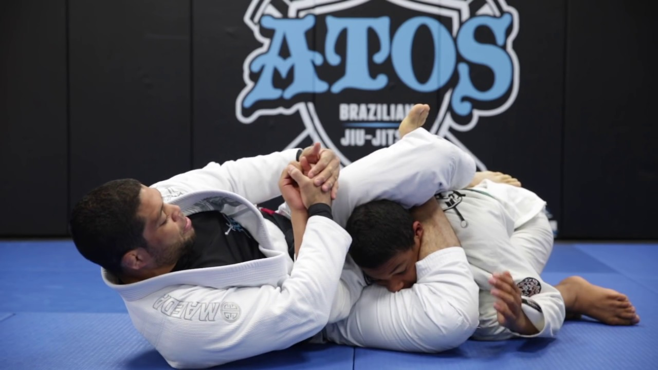 X guard to triangle with the option to arm bar – Andre Galvao