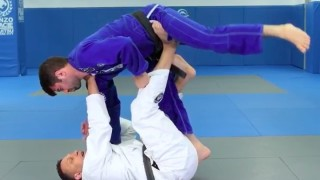 Renzo Teaches an Overhead Sweep from the DLR guard